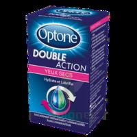 Optone Double Action Solution Oculaire Yeux Secs Fl/10ml à PARIS