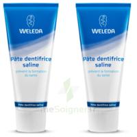 Weleda Duo Pâte dentifrice saline 150ml à PARIS