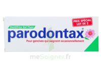 PARODONTAX DENTIFRICE GEL FLUOR 75ML x2