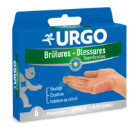 Urgo Brulures-blessures Petit Format X 6 à PARIS