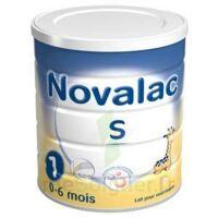 NOVALAC S 1 Lait en poudre satiétant 1er âge B/800g à PARIS