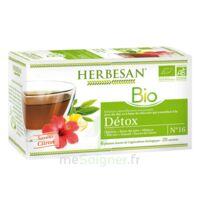 Herbesan Infusion Bio Tisane Détox 20 Sachets à PARIS