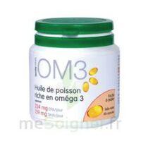 OM3 HUILE DE POISSON RICHE EN OMEGA 3, pilulier 120 à PARIS