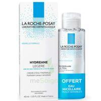 Hydreane Légère Crème hydratante peau normale à mixte 40ml+Eau micellaire 50ml