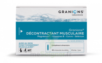 Granions Décontractant Musculaire Solution Buvable 2b/30 Ampoules/2ml à PARIS