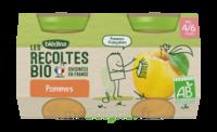 Blédina Les Récoltes Bio Pommes De Nouvelle Aquitaine 2 Pots/130g