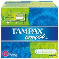 TAMPAX COMPAK SUPER x 20 à PARIS