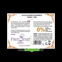 Freesens Savon Liquide De Marseille Vanille-miel Fl Pompe/1l