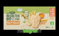 Blédina Les Récoltes Bio Mon 1er Biscuit 10 Sachets De 2 Biscuits