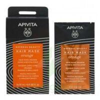 Apivita - Express Beauty Masque Capillaire Brillance & Vitalité - Orange 20ml à PARIS