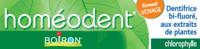 Boiron Homéodent Soin Complet Dents et Gencives Pâte Dentifrice Chlorophylle Format Voyage T/25ml à PARIS