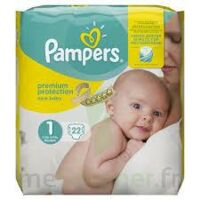 PAMPERS NEW BABY PREMIUM PROTECTION, taille 1, 2 kg à 5 kg, sac 22 à PARIS
