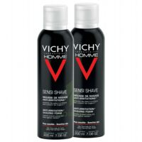 VICHY mousse à raser peau sensible LOT à PARIS
