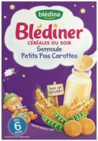 Blédiner Céréales du soir Semoule Petits pois Carottes 240g à PARIS