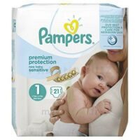 Pampers couches new baby sensitive taille 1 - 21 couches à PARIS