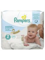 Pampers couches new baby sensitive taille 2 - 27 couches à PARIS