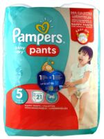 Pampers Baby Dry Pants T5 - 12-18kg à PARIS