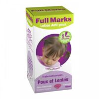 Full Marks Lotion antipoux et lentes 100ml+peigne à PARIS