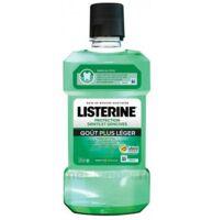 Listerine Goût plus léger 500ml à PARIS