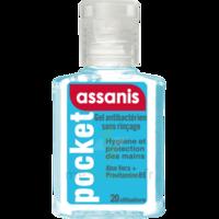 Assanis Pocket Gel antibactérien mains 20ml à PARIS