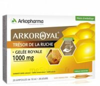 Arkoroyal Gelée royale 1000 mg Solution buvable 20 Ampoules/10ml à PARIS