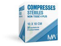 Marque Conseil Compresse stérile non tissé 10x10cm 50 Sachets/2 à PARIS
