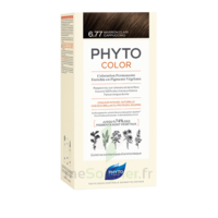 Phytocolor Kit coloration permanente 6.77 Marron clair cappuccino à PARIS