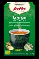 Yogi Tea Thé énergie du thé vert bio 17 Sachets à PARIS