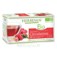 Herbesan Infusion Bio Tisane Circulation élimination 20 Sachets à PARIS