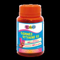 Pédiakid Gomme ourson Vitamine D3 fraise B/60 à PARIS