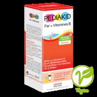 Pédiakid Fer + Vitamines B Sirop banane 125ml à PARIS