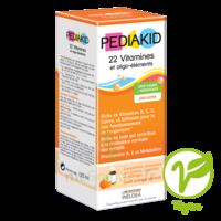 Pédiakid 22 Vitamines et Oligo-Eléments Sirop abricot orange 125ml à PARIS