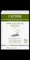 Cattier Argile Poudre surfine blanche 200g à PARIS