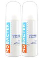 Nobacter Mousse à raser peau sensible 2*150ml à PARIS