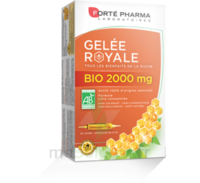 Forte Pharma Gelée Royale Bio 2000 Mg Solution Buvable 20 Ampoules/15ml à PARIS
