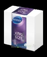 Manix King Size Préservatif Avec Réservoir Lubrifié Confort B/144 à PARIS