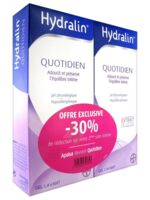 Hydralin Quotidien Gel lavant usage intime 2*400ml à PARIS