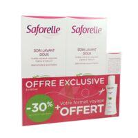 Saforelle Solution soin lavant doux 2*500ml+100ml à PARIS