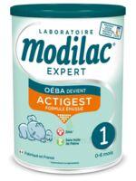 Modilac Expert Actigest 1 Lait poudre B/800g à PARIS
