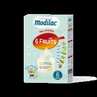 Modilac Céréales Farine 6 Fruits à partir de 8 mois B/300g à PARIS