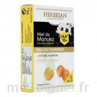 Herbesan - Billes Fourrées Miel De Manuka Iaa 10+ B/12 à PARIS