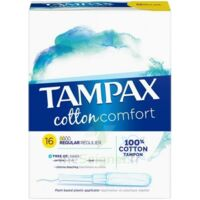 Tampax Pearl Cotton - Confort Régulier à PARIS