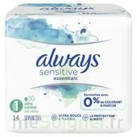 Always Serviettes Sensitive Essentials - Long Plus