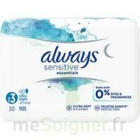 Always Serviettes Sensitives Essentials - Nuit à PARIS