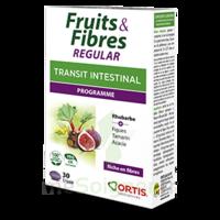 Ortis Fruits & Fibres Regular Comprimés 2*b/30 à PARIS