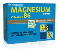 Arkovital Magnésium Vitamine B6 Gélules B/120 à PARIS