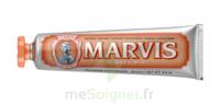 Marvis Orange Pâte dentifrice menthe gingembre 75ml à PARIS