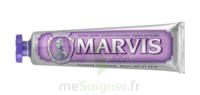 Marvis Violet Pâte dentifrice menthe jasmin 75ml à PARIS