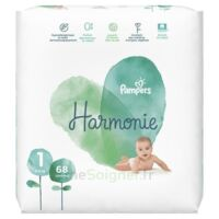 Pampers Harmonie Couche T1 jumbo paquet/68 à PARIS