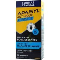 Apaisyl Anti-poux Xpress Lotion antipoux et lente 200ml+loupe à PARIS